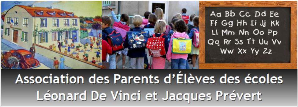 A.P.E Ecole Léonard de Vinci Logo